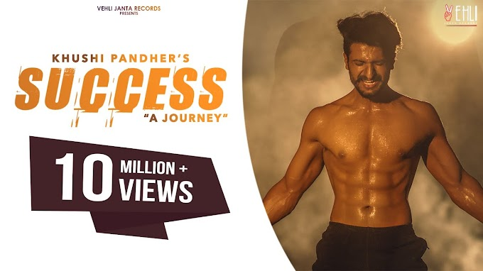 SUCCESS - KHUSHI PANDHER : LYRICS IN HINDI - BLACK VIRUS