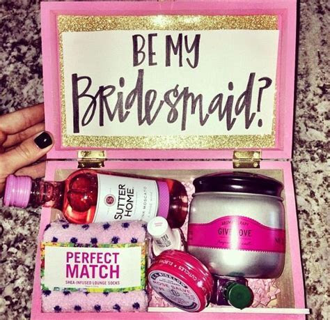 Will you be my..Bridesmaid?