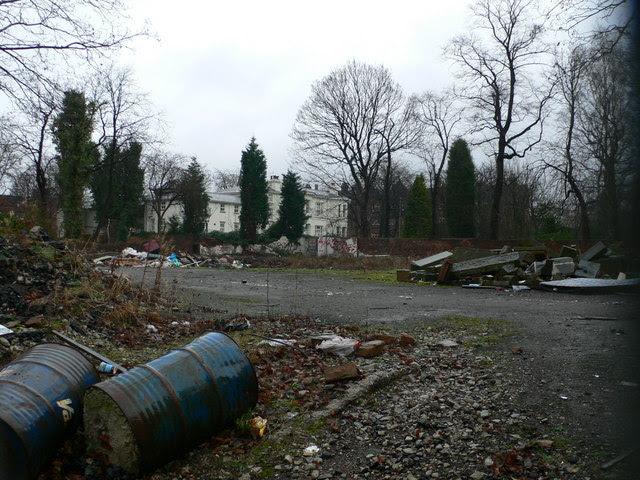 Waste Ground Upper Park Road Rusholme Eirian Evans Cc