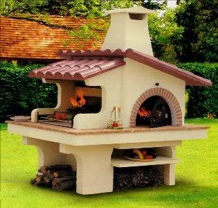 Casa moderna roma italy forno barbecue for Forno a legna per pizza fai da te