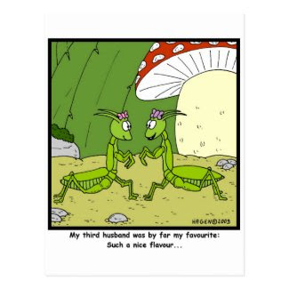 Favourite Husband Postcards