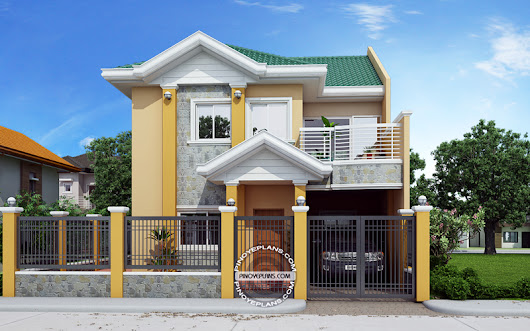 Johanne – 2 Story House Plan with Firewall