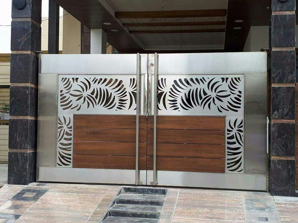 safety door grill design images  | 602 x 800