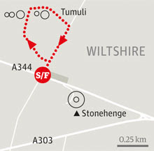 Stonehenge wiltshire walk graphic