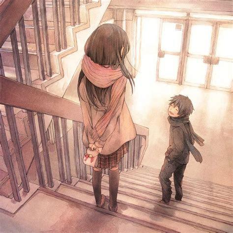 anime background cute love  kingotaku  deviantart