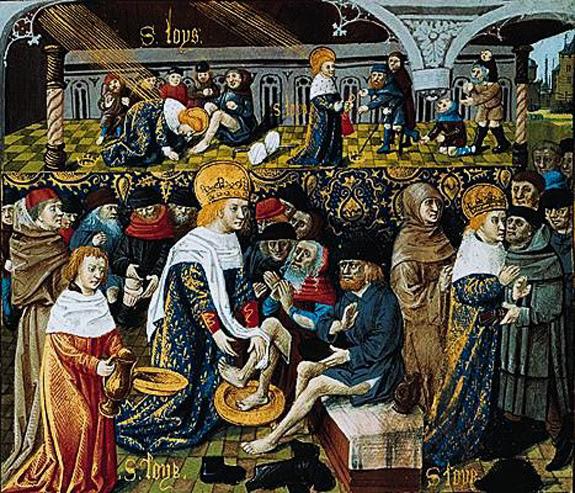 saint-louis-lavant-les-pieds-des-pauvres Jeudi Saint