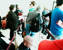 Rush line at the met