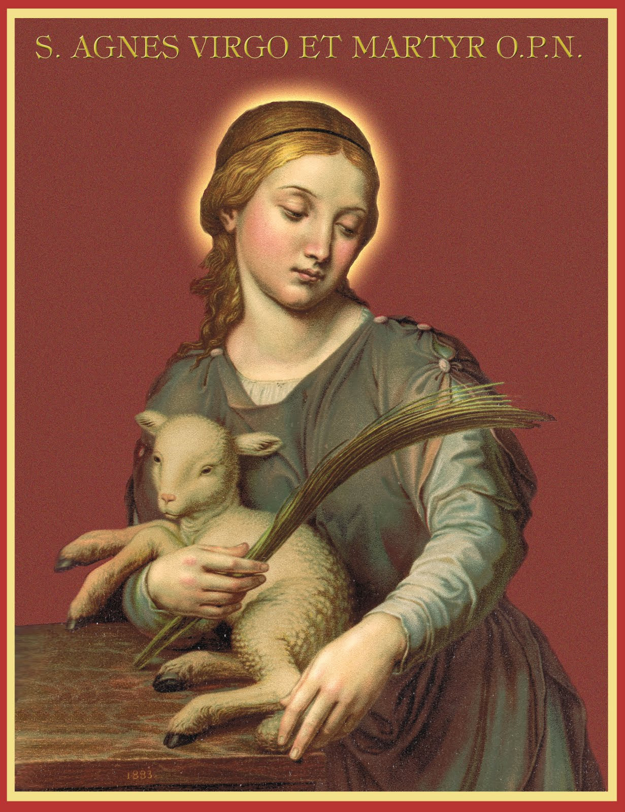 ST. AGNES of Rome, Virgin Martyr