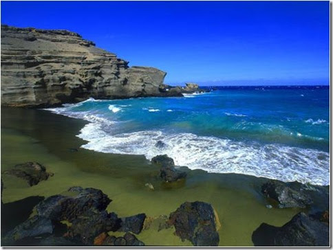 Praia de Papakolea Beach3