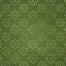 Green Dot Circles by MagentaStyle