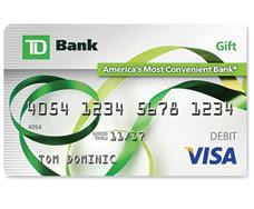TD Bank Visa Gift Card Review  Banking Sense