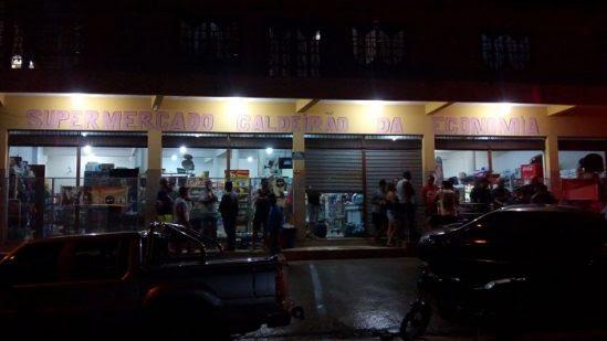 Nenhum pessoa ficou ferida durante o crime (Foto: Divulgação)