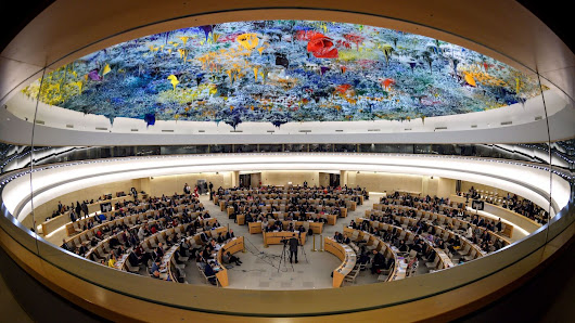 U.S. Announces Its Withdrawal From U.N. Human Rights Council : NPR