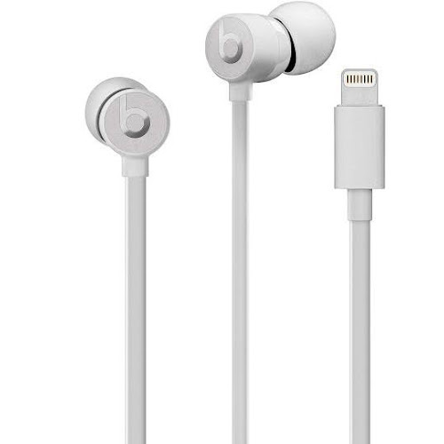 Beats urBeats3 In-Ear Earphones with Mic - Satin Silver