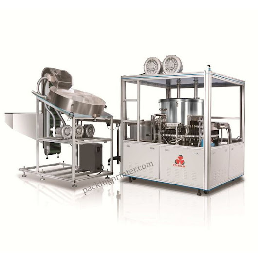 Fully Automatic UV Recycling Spray Paint Machine Coating for Bottle Lid Caps and Closures