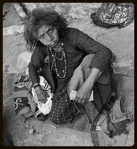 The Mastan Beggar Lady From Mahim by firoze shakir photographerno1