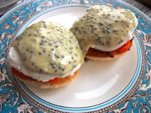 Caviar Gravlax Benedict