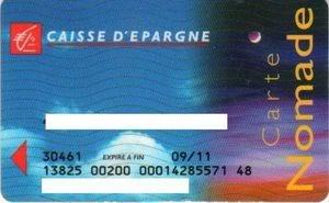 e carte bleu nomade caisse epargne Carte : Carte Nomade Caisse Epargne