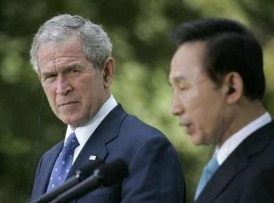 Bush in South Korea, 8.6.08  3