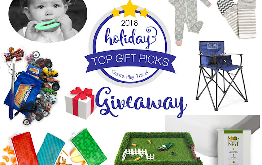 Create, Play, Travel Holiday Gift Guide Giveaway!
