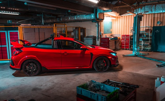 Une Honda Civic Type R, version pick-up | ALBI le Géant