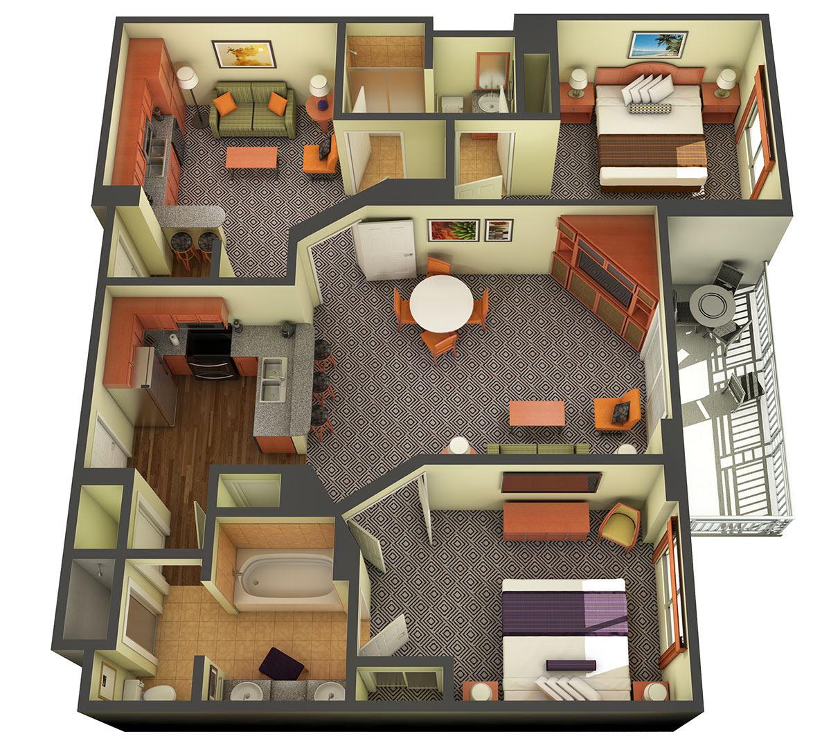 Astonishing Best Photo Of 2 Bedroom Suites In Las Vegas Sharon Norwood Download Free Architecture Designs Licukmadebymaigaardcom