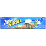 Ziploc Slider Freezer Bags, 1 gal - 10 count