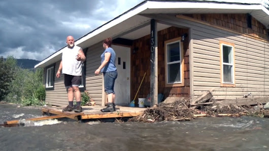 Insurance won't cover residents in flood-ravaged Cache Creek