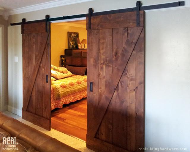 Barn Door Installations - rustic - interior doors - other metro