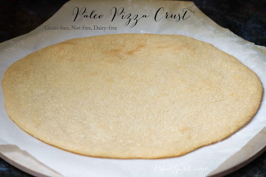 Basic Paleo Pizza Crust Recipe (Dairy-Free)