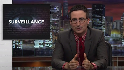 Watch John Oliver interview Edward Snowden about dick pics and the NSA