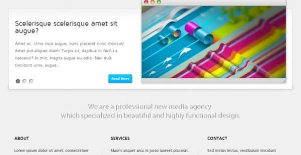 Thuliumy  Business WordPress Theme