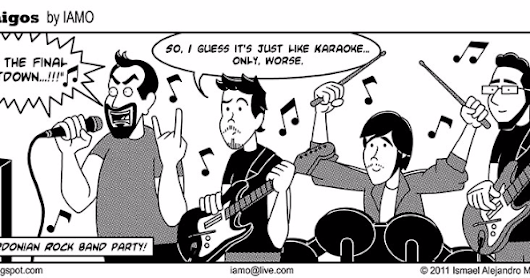 Nerdmigos :: The Band | Tapastic Comics