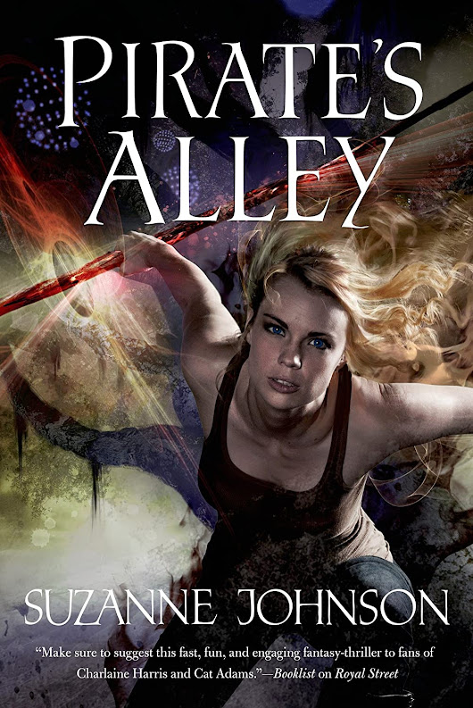 Tuesday Teaser with Review! Pirate's Alley by Suzanne Johnson