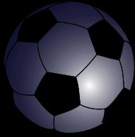 File:Soccerball mask transparent background.svg