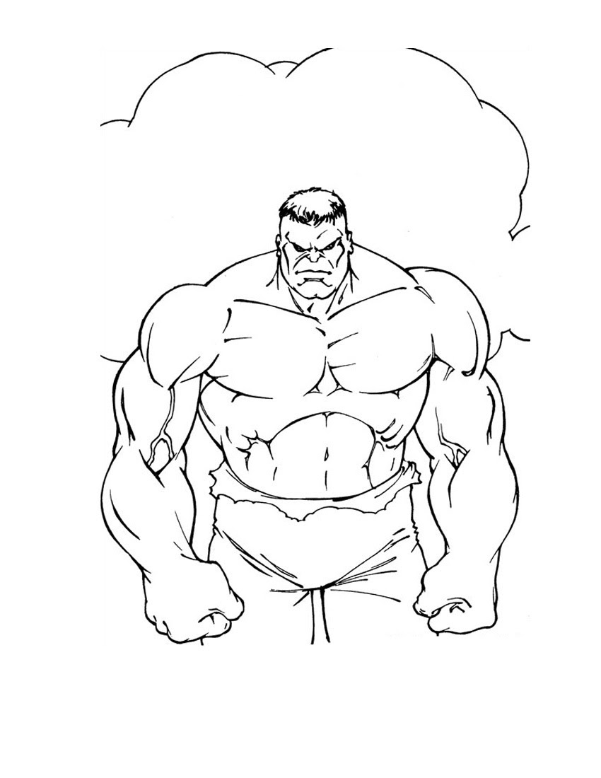 Avengers Hulk Coloring Pages at GetDrawings | Free download