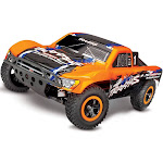 68086-4_ORNG Slash 4X4: 1/10 Scale 4WD Brushless Orange
