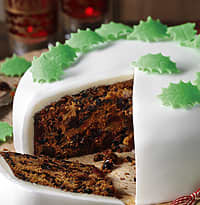 This is a wonderful, rich traditional fruit cake and can be made up to ...