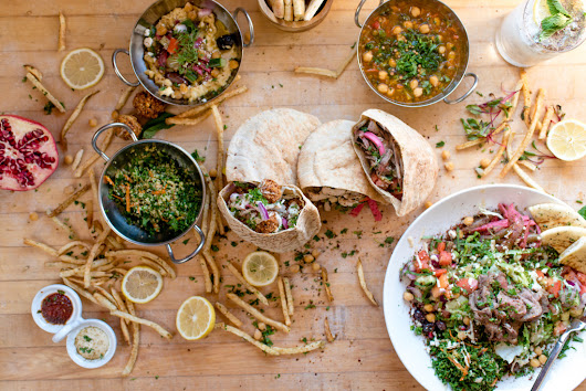Falafel on the fly:  Baba Nahm brings quick Middle Eastern eats to Grove Arcade