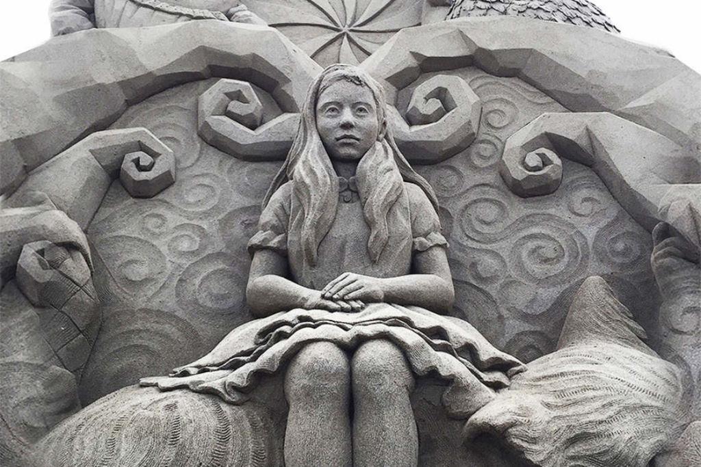 As extraordinárias esculturas de areia de Toshihiko Hosaka 02