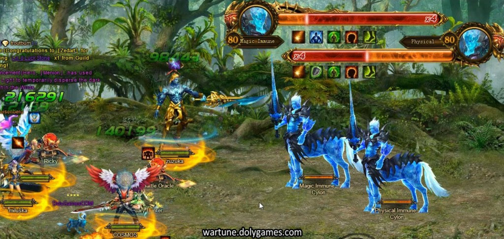 Elemental Forest Patch 4.0 - bosses Cylon and Anze