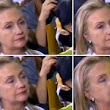 Jet lag caught up with you, Hillary? Hilarious video of Clinton falling asleep during historic Obama's speech in Myanmar