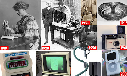 The century's top 100 inventions that changed our lives
