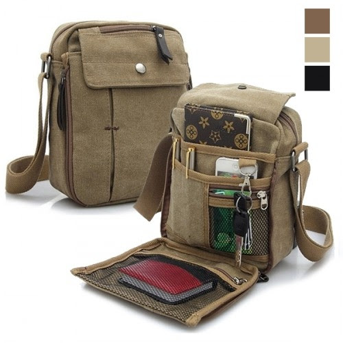 Multifunctional Canvas Traveling Bag - 3 Styles