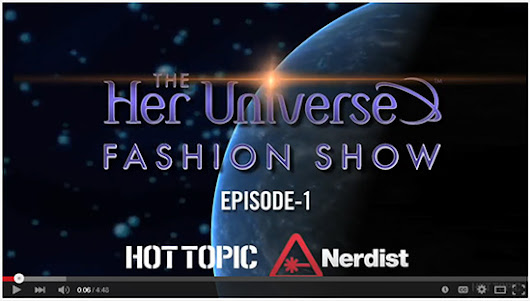 """Geek Couture"" Returns to San Diego Comic-Con 2015 with 2nd Annual Her Universe Fashion Show - Her Universe Blog"