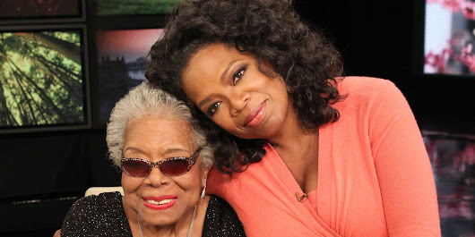 Oprah: Dr. Maya Angelou 'Will Always Be The Rainbow In My Clouds'