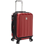 """Delsey Helium Aero - 19"""" Carry-On Expandable Spinner - Brick Red"""