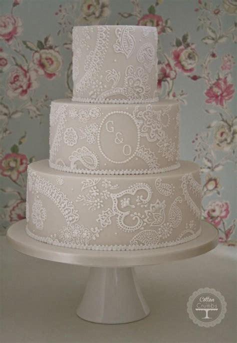 Wedding Cakes   Paisley Lace Wedding Cake #1972155   Weddbook