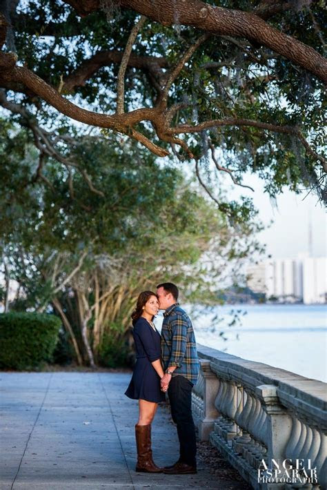 Dan and Brittany's Engagement Session   Riverside Memorial