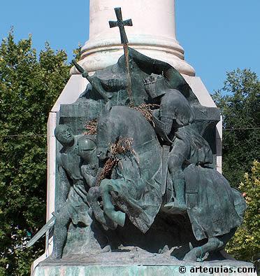 Monumento a la batalla de las Navas de Tolosa en Jaén